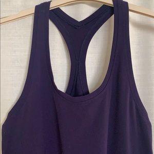 lululemon athletica Tops - Lululemon dark purple cool racerback II tank top